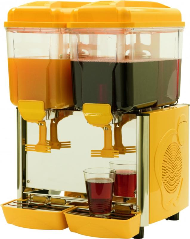 Koud drank dispenser 2 x 12  Liter