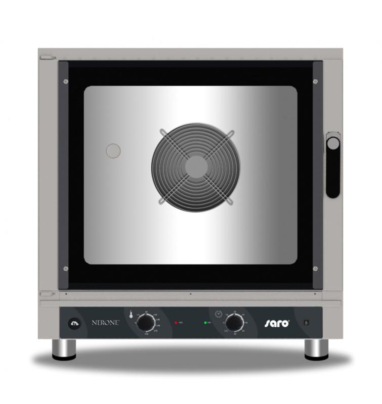 Hete lucht combi-oven met stomen