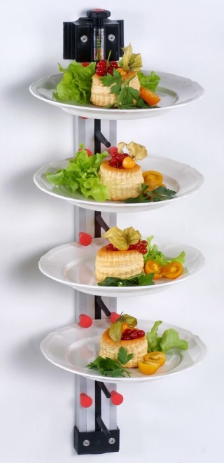 Bordenrek system Plate Mate Wandmodel