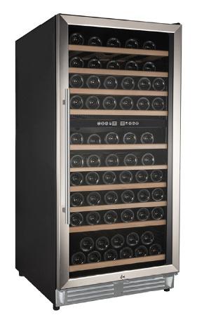Wijnklimaatkast dual zone wijnklimaatkast 154 flessen