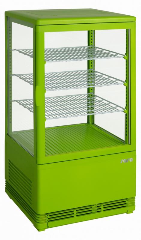 Mini Koelvitrine   opzet koeling vel groen