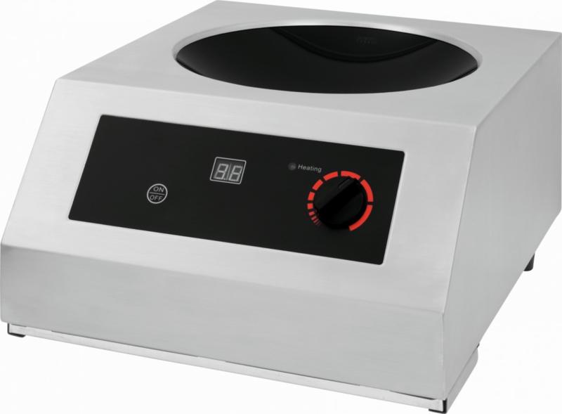 Wok inductiekookplaat 230 V - 50 Hz - 3,5 kW