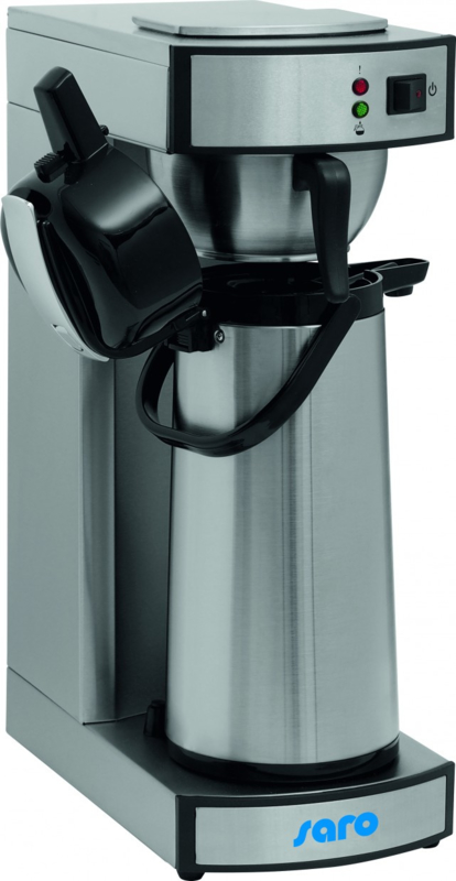 Koffiemachine | Koffieapparaat + Pumpkanne: 2,2 ltr.