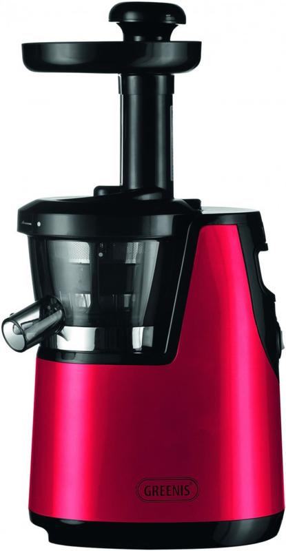 Slowjuicer |  Sapcentrifuge | Rood BPA Vrij | 65 RPM | 150W