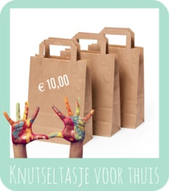 Knutseltasje, 10 euro