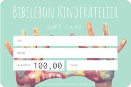 Gift Card, 100 euro