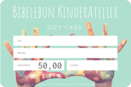 Gift Card, 50 euro