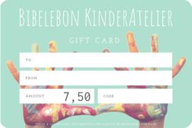 Gift Card, 7,50 euro