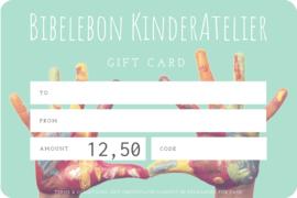 Gift Card, 12,50 euro
