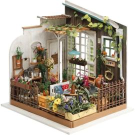 ROBOTIME DIY miniatuur tuinkamer