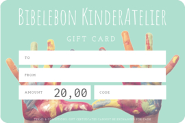 Gift Card, 20 euro