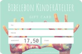 Gift Card, 17,50 euro
