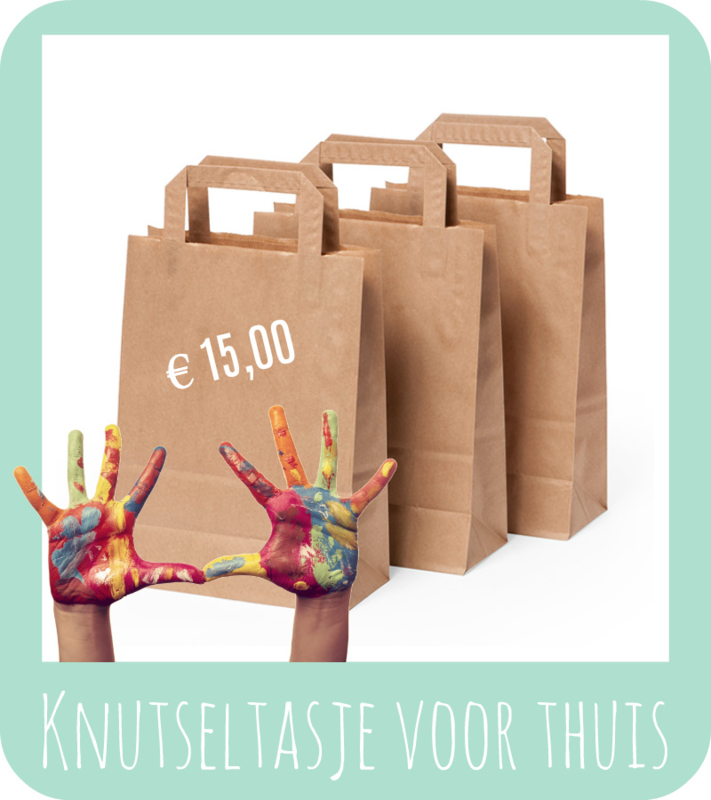 Knutseltas, 15 euro