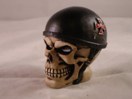 Skull Red Cross Helmet Shift Knob - Shifter