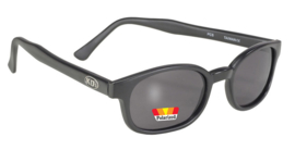 Sunglasses - Classic KD's - POLARIZED GREY - Matte black Frame
