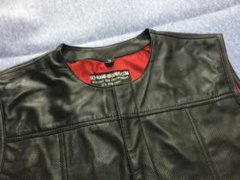 Limited Edition - LAMB SKIN aero vest - Red Lining - Club Style Bikervest