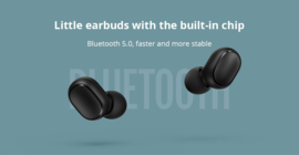 Helmet Airdots Wireless earphone Voice control Bluetooth