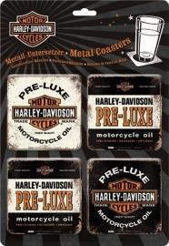 Harley-Davidson Coaster Set - Pre-Luxe