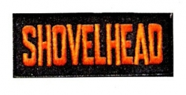 111 - Patch - Harley-Davidson Shovelhead Black & Orange