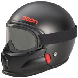 XTREME JET - ECE Helmet - Flat Black
