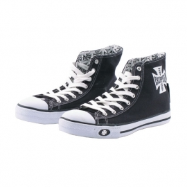 WCC BLACK WARRIOR SHOES - `After Riding`  Hi Top Sneakers