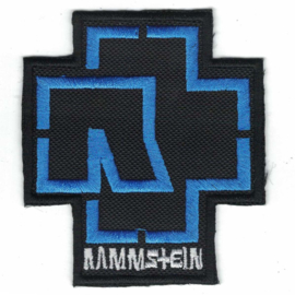 PATCH - Rammstein logo - Blue