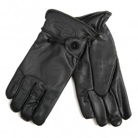 Gloves - Longhorn - Rodeo/Biker Gloves - Black