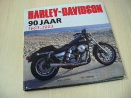 Book - Harley-Davidson - 90 jaar - 1903-1993 (2e kans exemplaar)