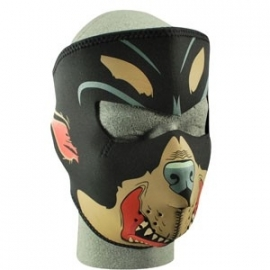 Face Mask - Full - RottWeiler - reversable to black - Zan HeadGear