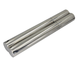 Stainless steel flask/cigar 2.0 oz