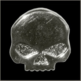 P134 - Pin -  Willie G Skull