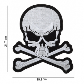 000 - BackPatch - Skull & Bones - Large