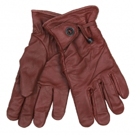 Gloves - Longhorn - Rodeo/Biker Gloves - Brown