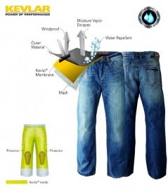 John Doe - Kevlar Jeans - Kamikaze - Light Blue Jeans