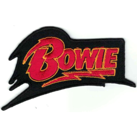 PATCH - letters BOWIE with thunderbolt - David Bowie