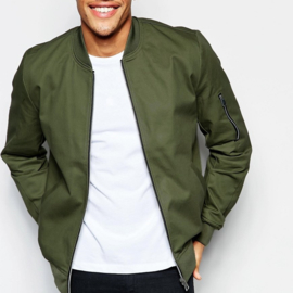 KEVLAR Bomber Jack Protective MA-1 - 600D - Army Green (Limited Edition)