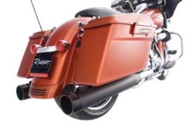 """RINEHART SLIP-ON MUFFLERS 4"""" Harley-Davidson Touring Models"""