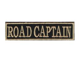 290 - Golden PATCH - Flash / Stick - ROAD CAPTAIN