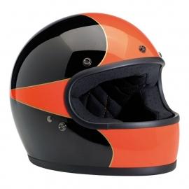 BiltWell - Gringo Helmet - GLOSS BLACK/ORANGE