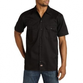 Dickies - S/S work shirt - Black