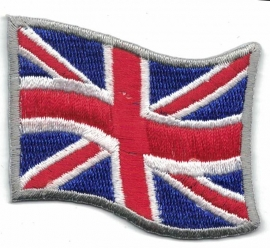 PATCH - Waving English flag - Union Jack - United Kingdom - UK