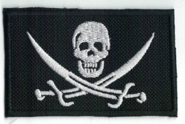 169 - Patch - Pirate Skull Crossed Swords