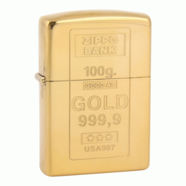 Zippo - Limited Edition : Gold!