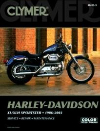 Book - Clymer Harley Davidson XL/XLH Sportster 1986-2003