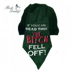 Bandana Cap - The Bitch Fell Off - Zandana