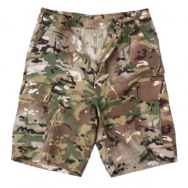 BDU Combat Shorts -DTC Multi-Camouflage