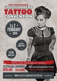 2014/02, 01-02 feb. - East Flanders Tattoo Convention