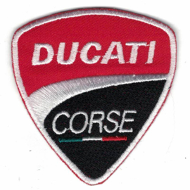 PATCH - DUCATI CORSE with Italian Flag