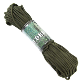 PARACORD 7 STRINGS 30 MTR. - ARMY GREEN