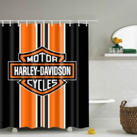 Shower Curtain - Harley-Davidson 180x180cm - Free Rings included
